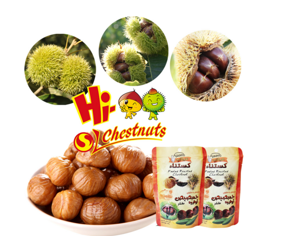 OEM Snacks Roasted Peeled Chestnuts