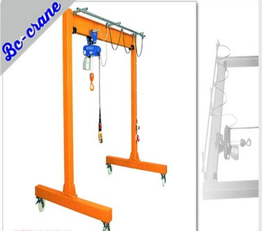 CE Certification Protable Mobile Small Gantry Crane Manufacturer