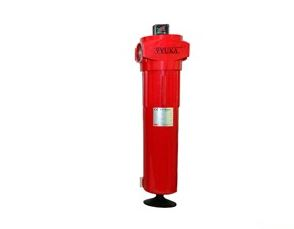 Compressed oil filter air filter for air dryer or air compressor