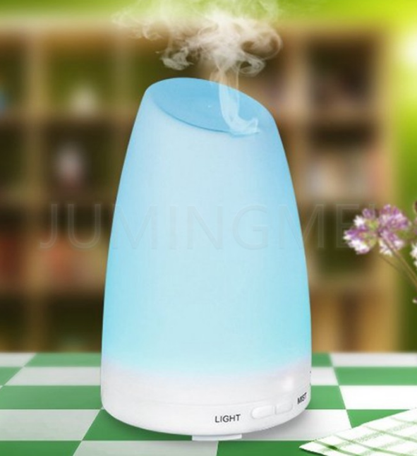 Night light Anion Ultrasonic air Humidifier 100ml
