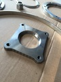 high quality square flange