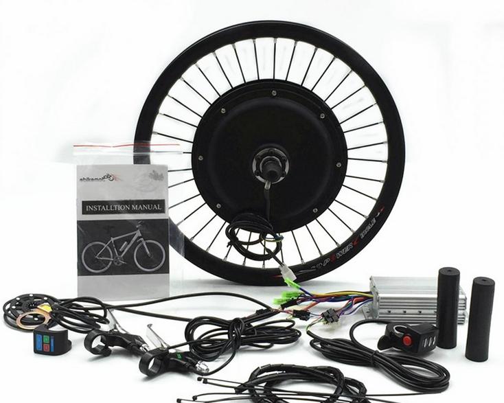 ENC48500 48v brushless gearless electric bike kit 500w