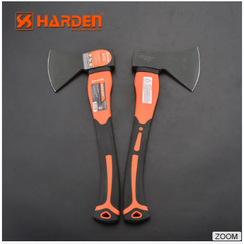 Carbon Steel Professional Hatchet With Fiberglass Handle