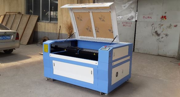 China cheap price co2 laser metal and nonmetal cutting machine