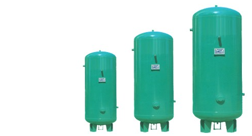 High grade collector air tank for turck pressure holder