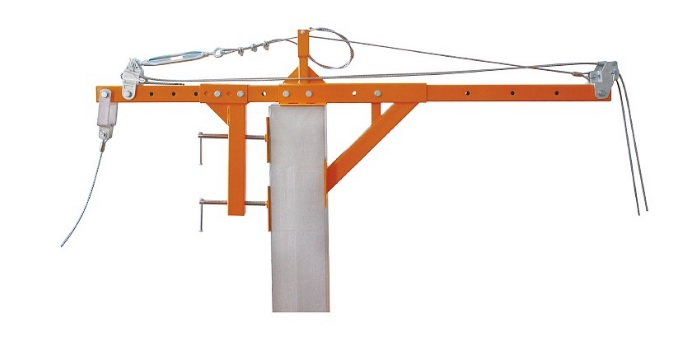 Parapet clamp for ZLP SRP suspended platform