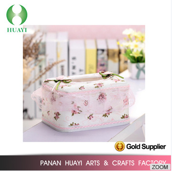 Newest selling simple design with good offer tissue box 2016