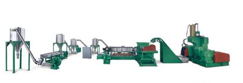 HFFR /LSFH Cable material granulating production line