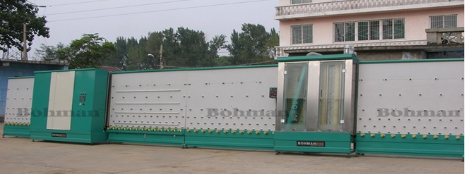 LBP1600 Vertical Insulating Glass Rolling Pressing Production Line