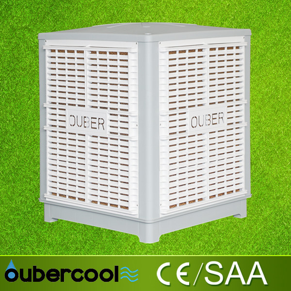 Power saving industrial use evaporative air cooler, factory air cooling fan, water cooling air conditioner(FAD25-ER)