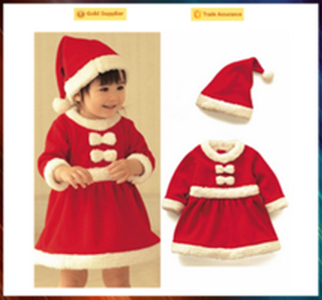 Made in China cosplay costume children Christmas costume for sale