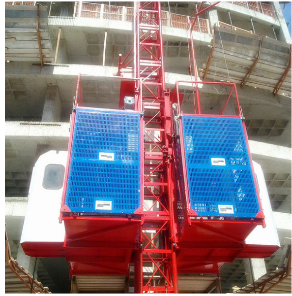 SC200/200-2ton Double Cages construction hoist