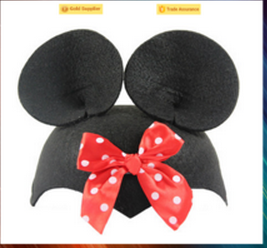 2016 New fashion hot sale wholesale children hat suppliers funny cartoon hats