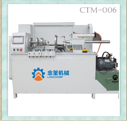 Pneumatic Horizontal Edge Trimming Machine for stainless steel vacuum bottle