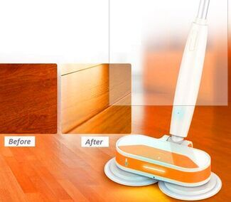 2016 Best 360 Cordless Dual Spin Electric Floor Cleaning Mop JT-MOP01