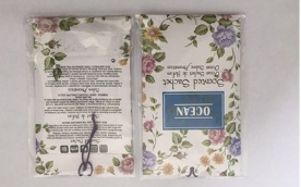 Promotional Jasmin Vermiculite Scented Paper Sachet Bag