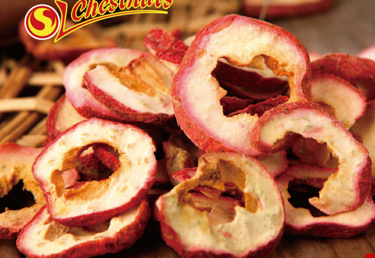 hawthorn berry fruit chips