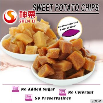 Natural Dry Sweet Potatos