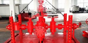 API 16C hydraulic/manual high pressure kill manifold Choke Manifold