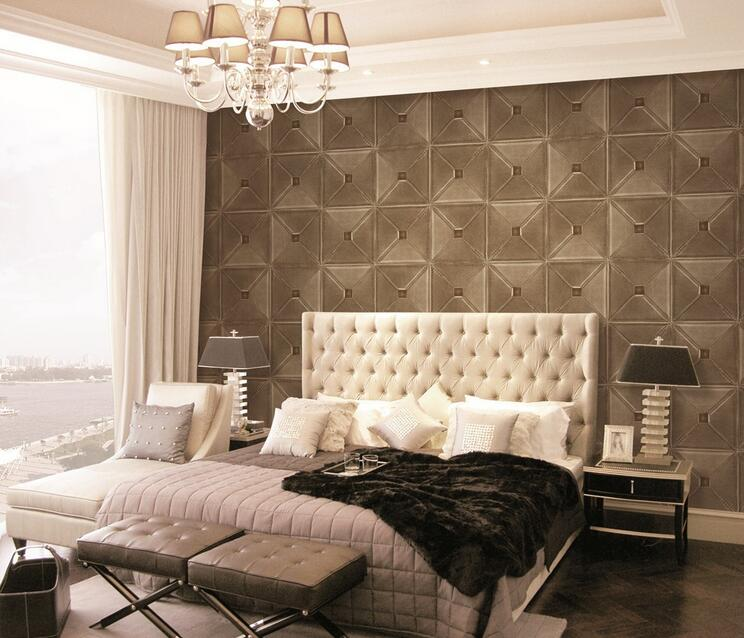 3D bamboo Cheap Wall paper For Project