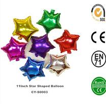 Inflatable 5Inch Star Shaped Aluminium Foil Balloon