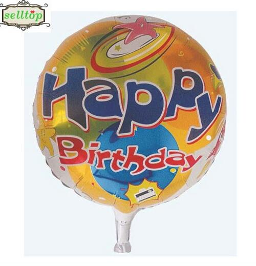 hot sell 18 birthday foil helium balloon