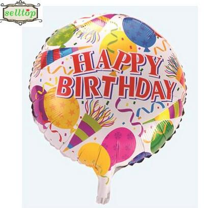 hot sell 18 birthday balloon foil