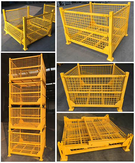 Heavy Duty Wire Container