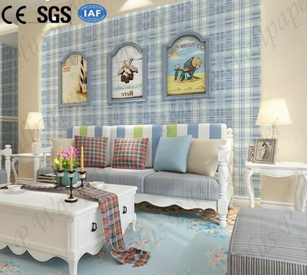 Good Quality Eco-friendly Non-woven Wallpaper for Kids Room Decoration