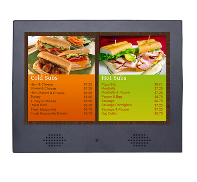 10 Inch Shopping Mall LED Backlight LCD Advertising Display