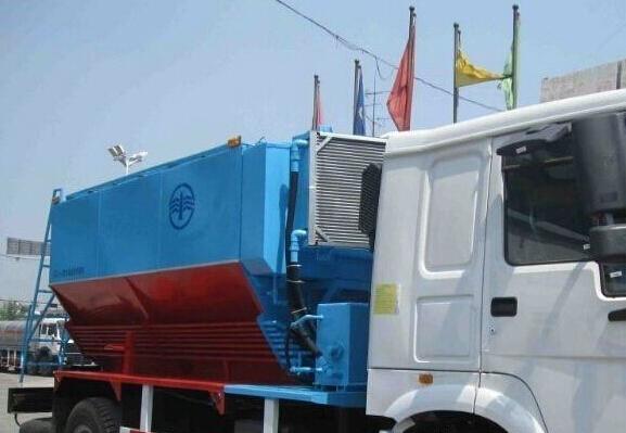 ANFO-Explosive truck
