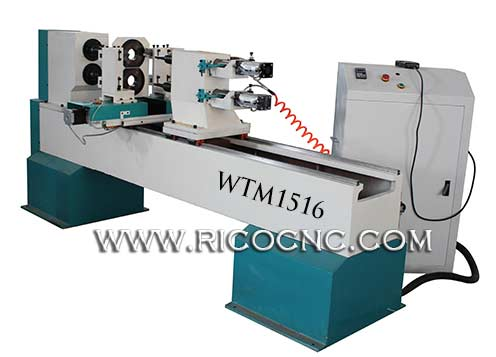 CNC Wood Lathe for Baseball Bats Woodworking Lathe for Sale WTM1516