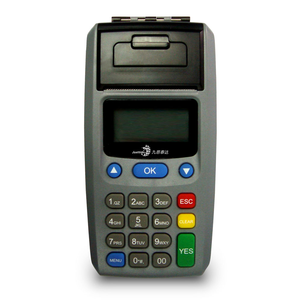 Justtide PC1000 Lottery & Prepaid POS