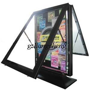 Aluminium Alloy Scrolling Light Box