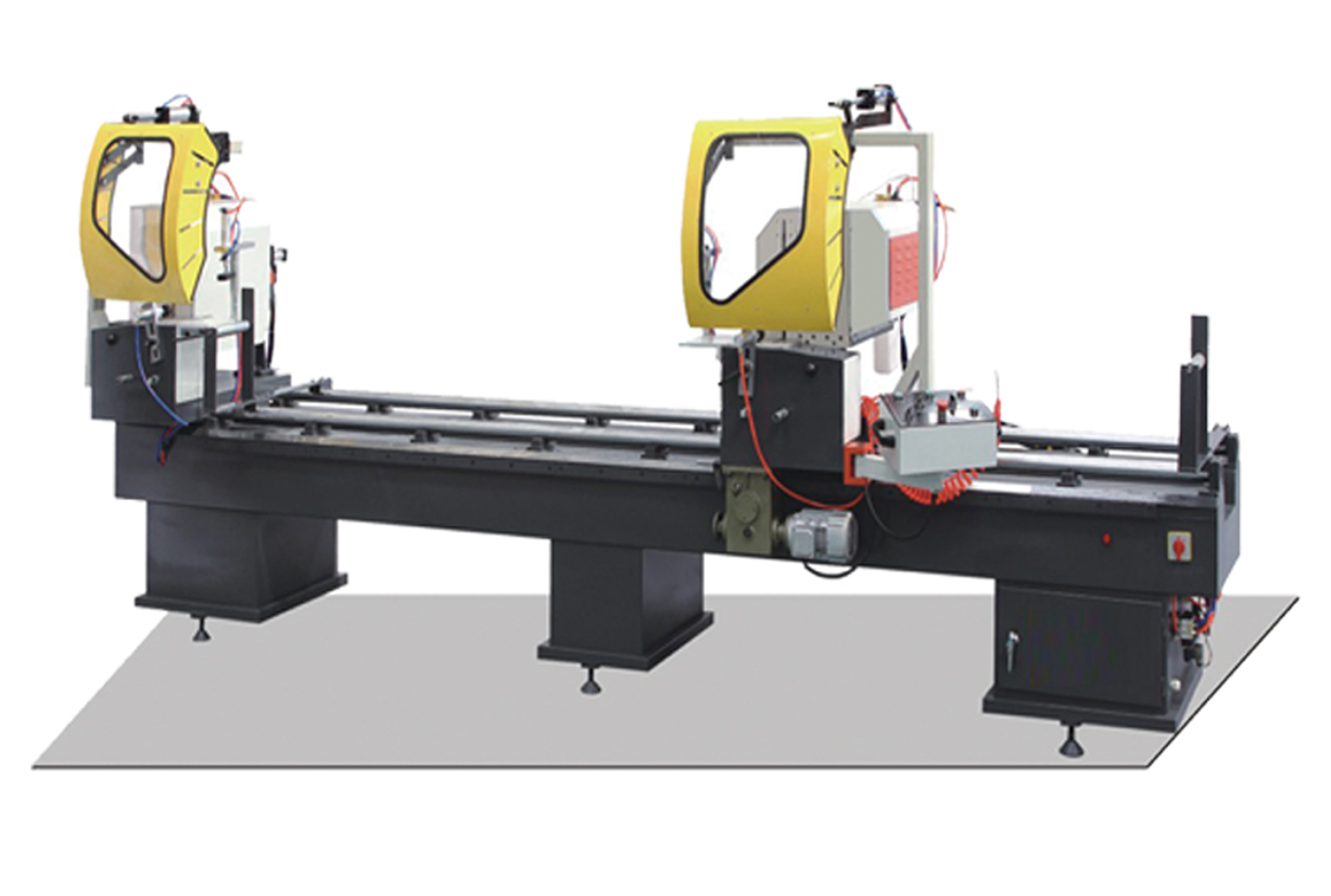 Double Angle Sawing Machine for Aluminum and Plastic Windows and Doors