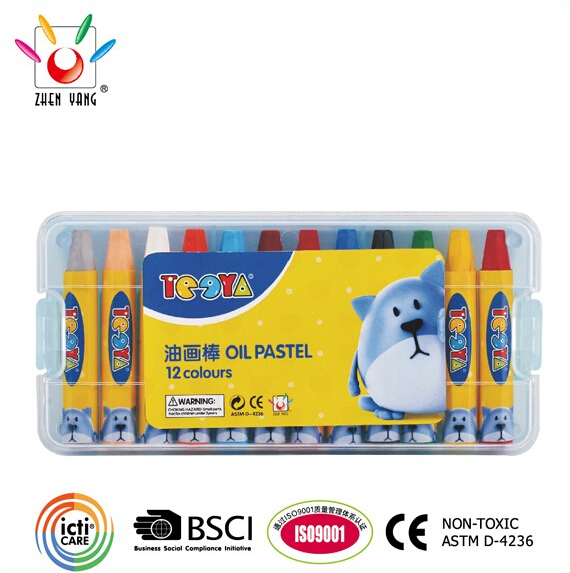 12 COLOR SILKY PAINTING PASTEL SET IN PP BOX