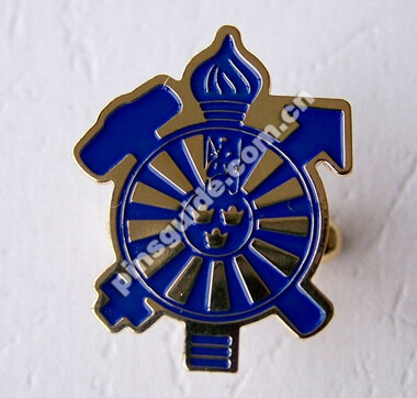 Manufacturer Nickel Free Decorative Label Pin Badge