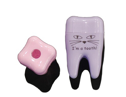 tooth shape funny pencil sharpener