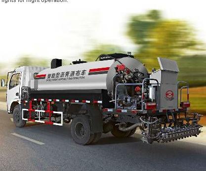 ESUN HZJ5110GLQ 6000 liters asphalt bitumen emulsion sprayer
