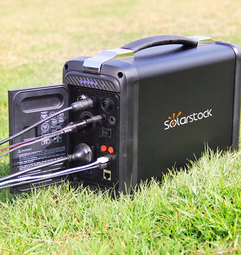 High Efficiency 400w Portable Solar Power System for Laptops/TV/Digital Devices