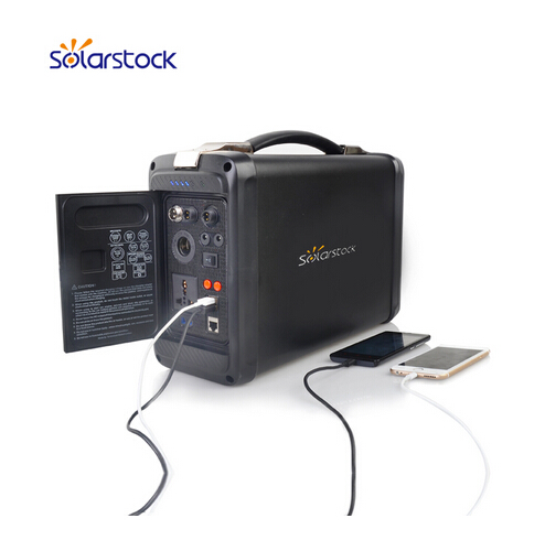 2016 Innovative Solar Product Small Portable Solar Powered Generator for Camping