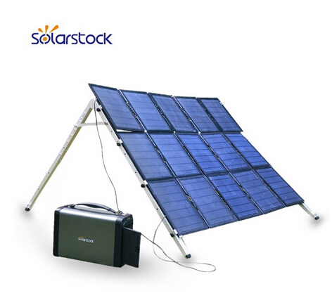 IP65 Waterproof Portable Solar Energy System