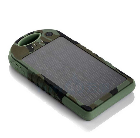 12000mAh Solar Charger,CE/RoHS/FCC Design Patent Approval,Water-Proof/Dust-Proof/Drop-Proof/Shake-Proof