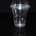 Customized Logo 12oz disposable transparent plastic cup