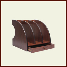 produce fashion free sample black rotary office wood document tray