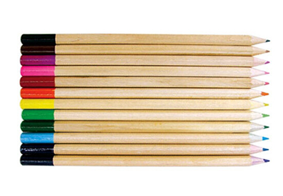 High-quality Colour Pencil with dipped for kids/stationery