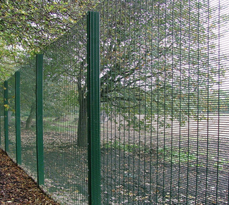 import china goods green wire fencing / security fencing / qunkun fencing