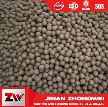 High Hardness Dia20-40mm Hot Rolled Balls For Ball Mill