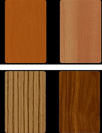 Wood Grain Coated Aluminum Coi