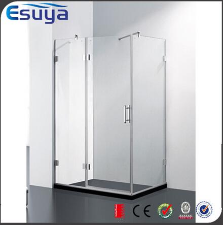 Custom design size sliding shower enclosure / fiberglass shower enclosures